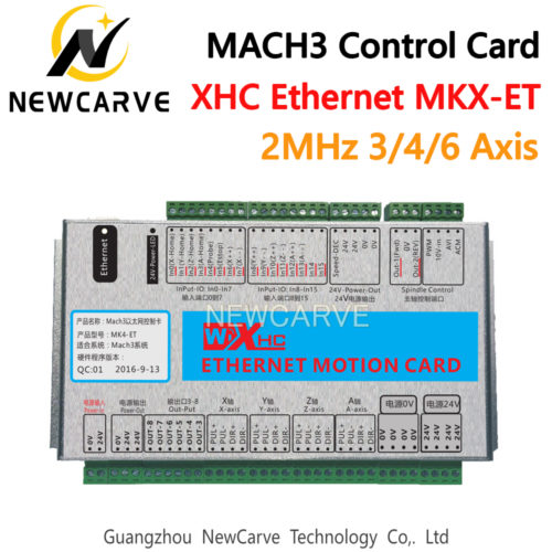 XHC Ethernet Mach3 Breakout Board 3 4 6 Axis USB Motion Control Card