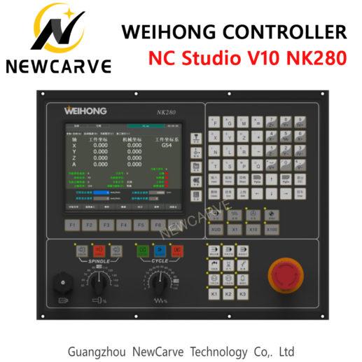 WEIHONG NC studio NK260 NK280 software NC studio V10 3 axis